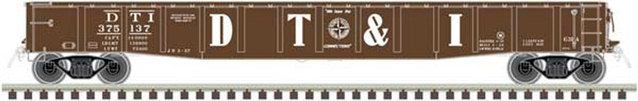 50003411 Atlas ACF 52' Gondola - DT&I Detroit Toledo & Ironton #375222 (Scale=N) 150-50003411