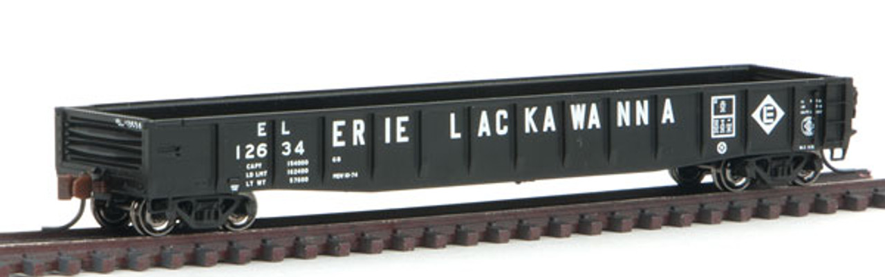 50003412 Atlas ACF 52' Gondola - EL - Erie Lackawanna #12634 (Scale=N) 150-50003412