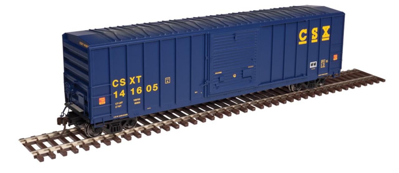 50003424 Atlas FMC 5077 SD Box Car - CSX #141605 (Scale=N) 150-50003424