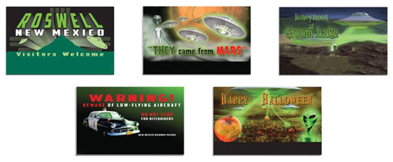 434-637853 Lionel / Billboard Set -- Aliens  (Scale=O) #434-637853