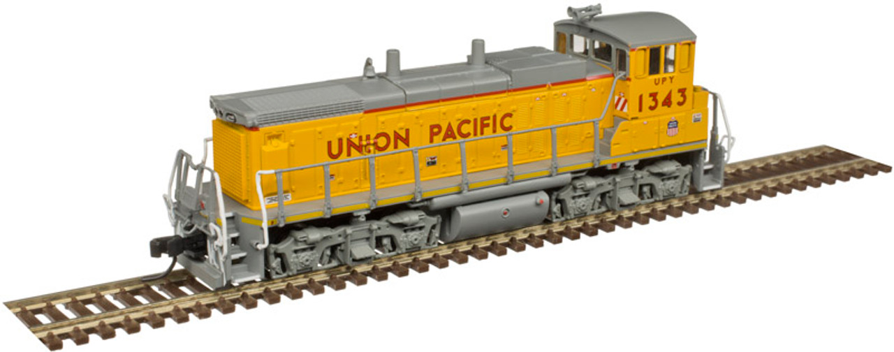 ATLAS 40003817 MP15DC UP Union Pacific #1343 - NCE Decoder Equipped DCC - Master (SCALE=N) Part # 150-40003817