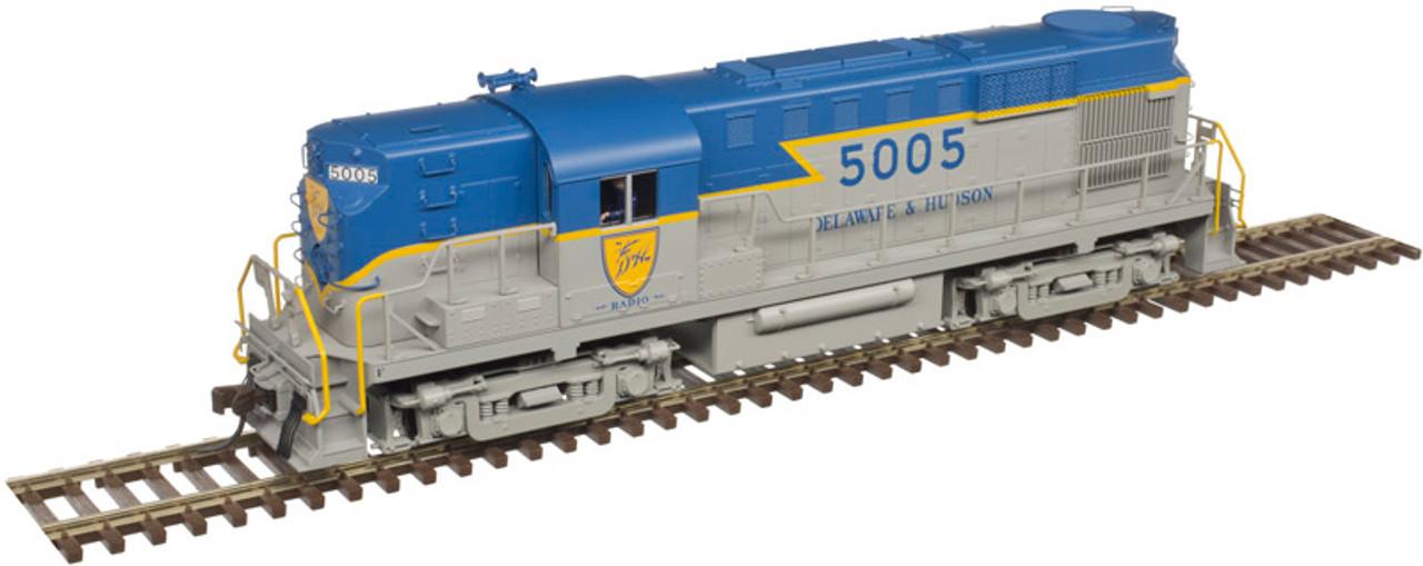 10002890 Atlas Gold / RS-11 D&H Delaware & Hudson #5000 ESU LokSound & DCC (SCALE=HO)  Part # 150-10002890