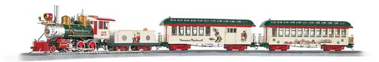 25023 Bachmann / Train Set -- Norman Rockwell's American Christmas (SCALE=On30) Part#=160-25023