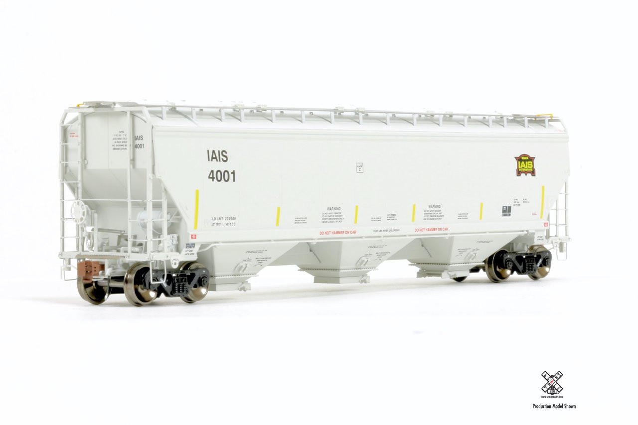 Scaletrains {SXT30834} Gunderson 5188CF Hopper Iowa Interstate #4015 (Scale=HO) Part#8003-SXT30834