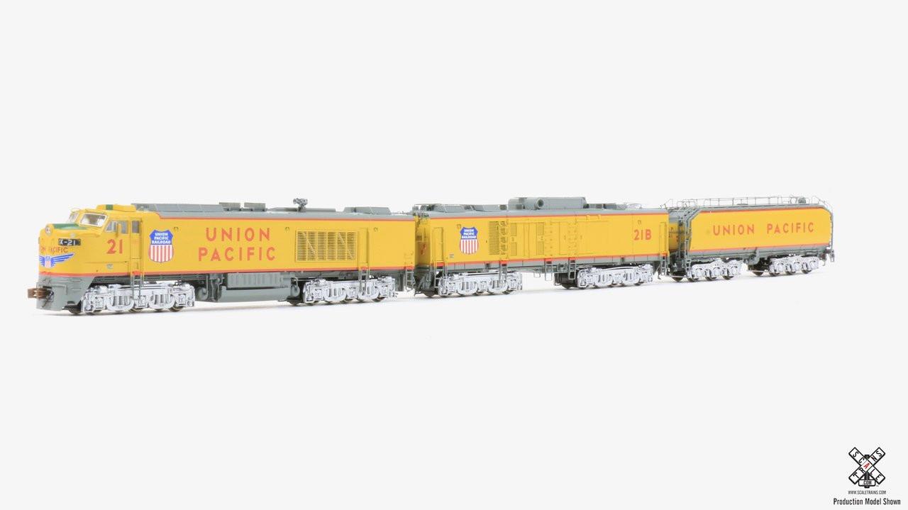 """SXT30598 GTEL 8500 HP """"Big Blow"""" Turbine UP Union Pacific #21 ESU LokSound DCC & Sound Rivet Counter ScaleTrains  (SCALE=N)  Part # 8003-SXT30598"""