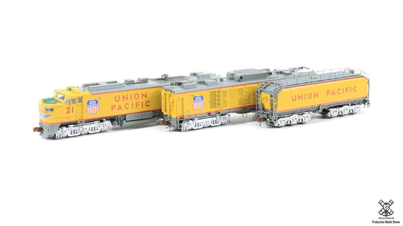 "SXT30598 GTEL 8500 HP ""Big Blow"" Turbine UP Union Pacific #21 ESU LokSound DCC & Sound Rivet Counter ScaleTrains  (SCALE=N)  Part # 8003-SXT30598"