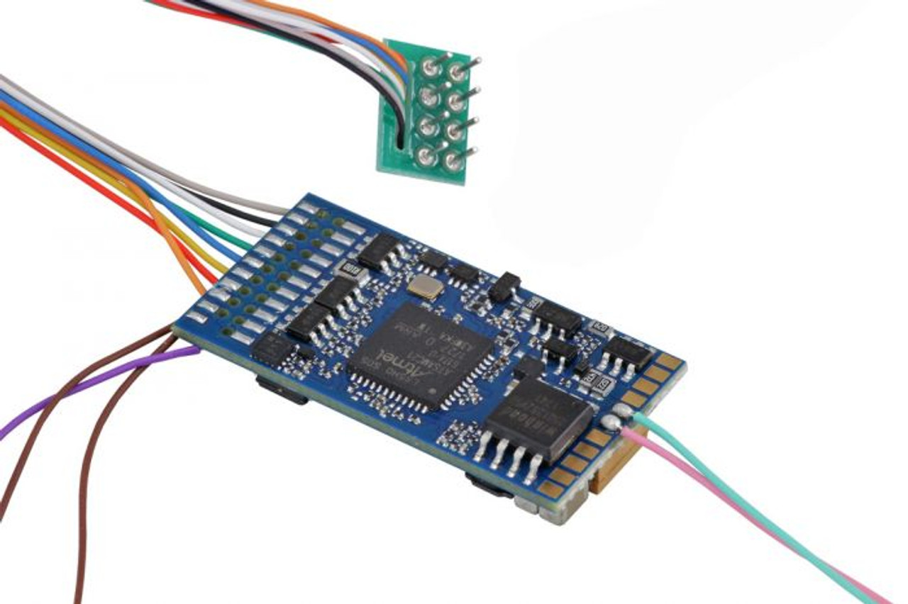 """58420 ESU  LokSound / Ver 5 DCC 8 Pin NEM652  """"Generic"""" Ready for Programming  - 8-pin/ (All Scales) Part # = 397-58420"""