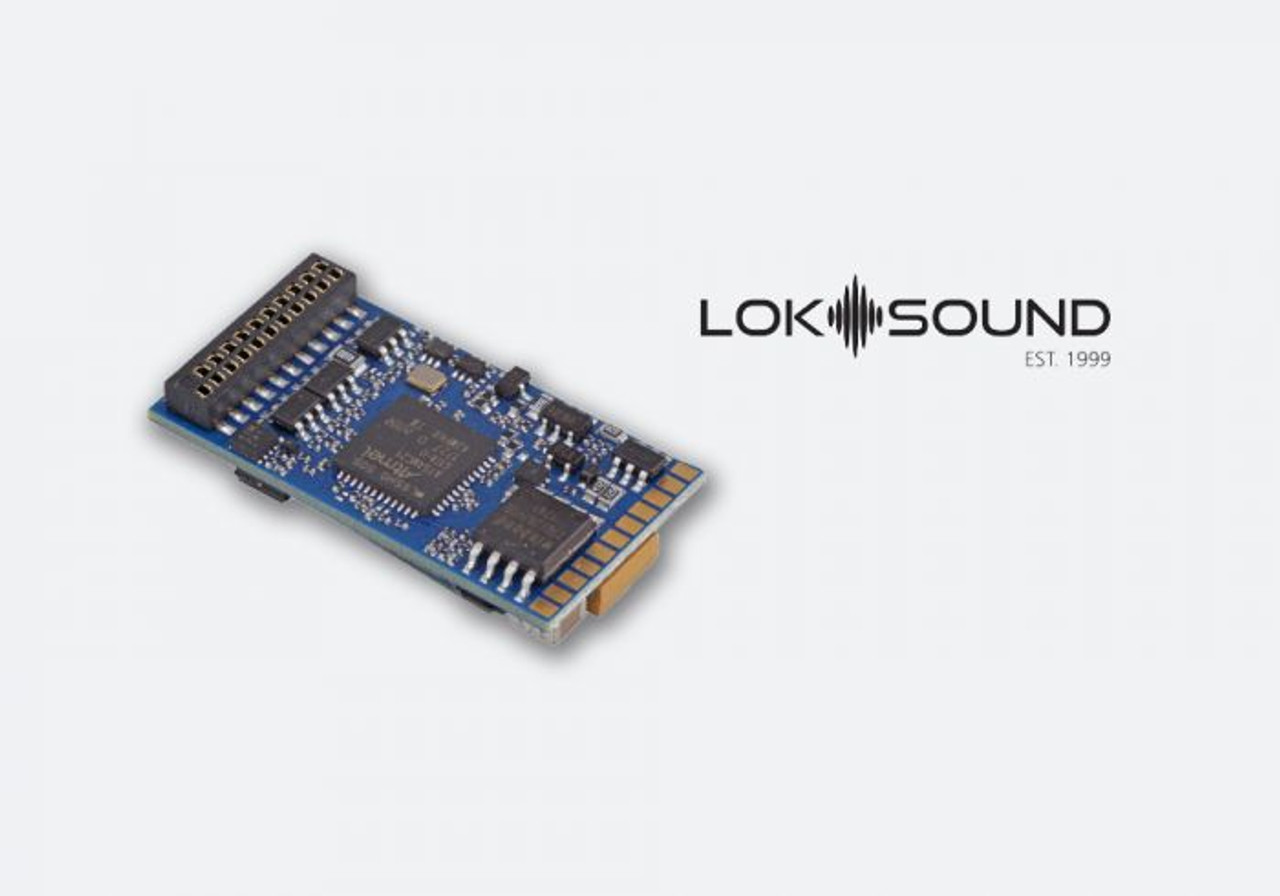 "58429 ESU  LokSound / Ver 5 DCC 21MTC (21 Pin) NEM660  ""Generic"" Ready for Programming  (Scales=HO) Part # = 397-58429"