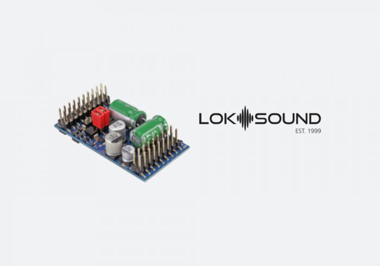 """58315 ESU  LokSound / Ver 5 L DCC/MM/SX/M4 """"Generic"""" Ready for Programming  - (Scales=O) Part # = 397-58315"""