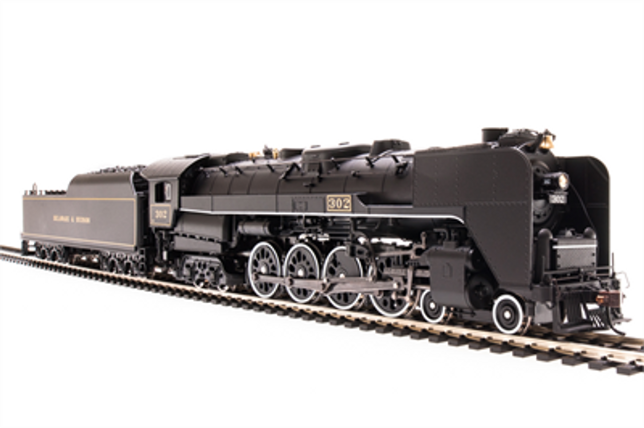 BLI 5776 4-8-4 T1 -D&H - Delaware & Hudson #302, Sound/DC/DCC Broadway Limited  (SCALE=HO)  Part # 187-5776
