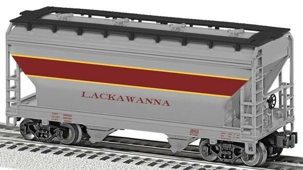 6-26473 Lionel / ACF 2 Bay Hopper - Lackawanna (SCALE=O)  Part # 434-626473