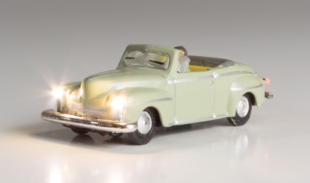 Woodland Scenics 5614 Cool Convertible - Just Plug  (SCALE=N)  Part # 785-5614