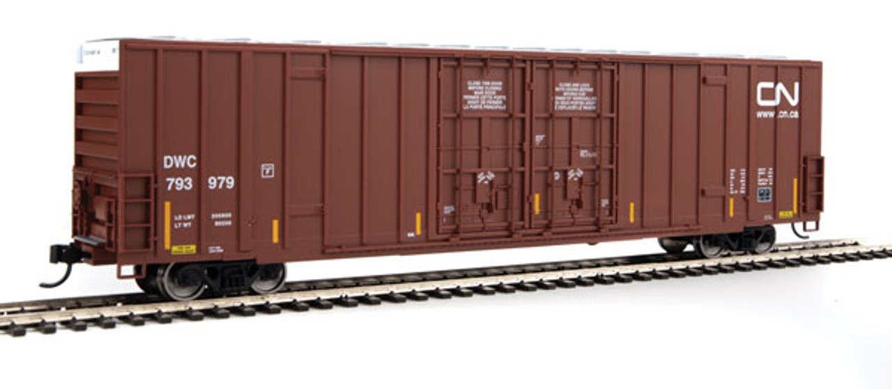 Walthers 910-2923 60' High Cube Plate F Boxcar CN - Canadian National #793979 (SCALE=HO)  Part #910-2923