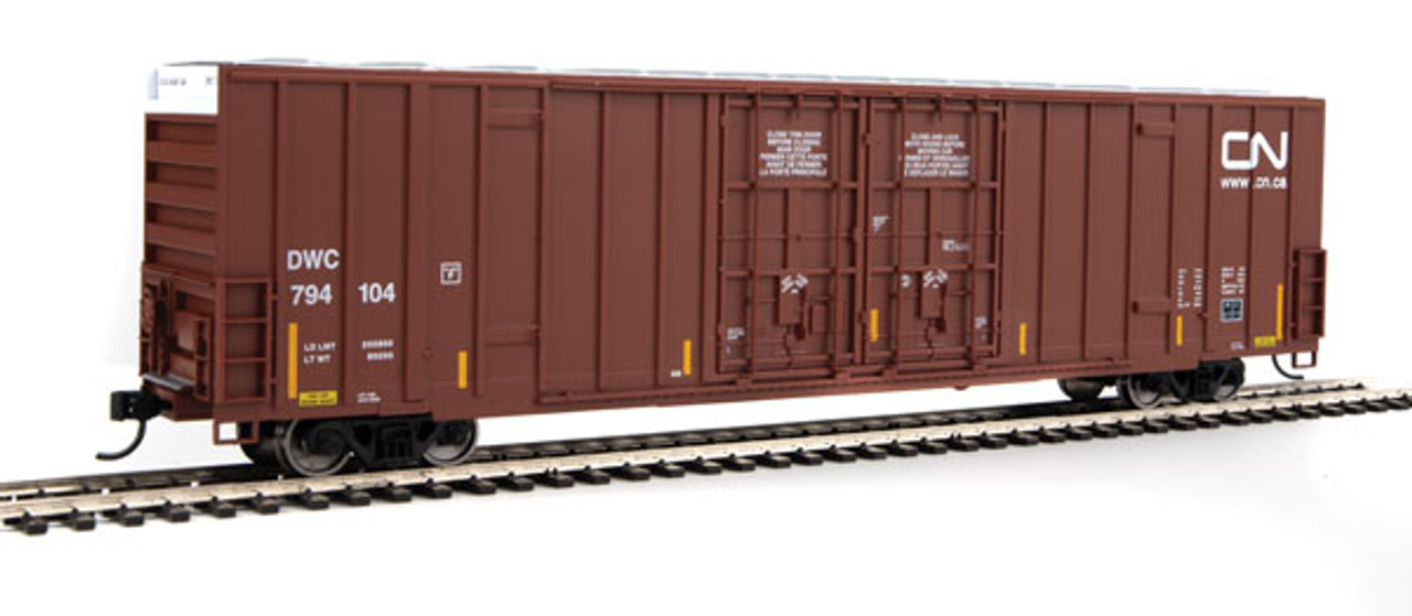 Walthers 910-2925 60' High Cube Plate F Boxcar CN - Canadian National #794104 (SCALE=HO)  Part #910-2925