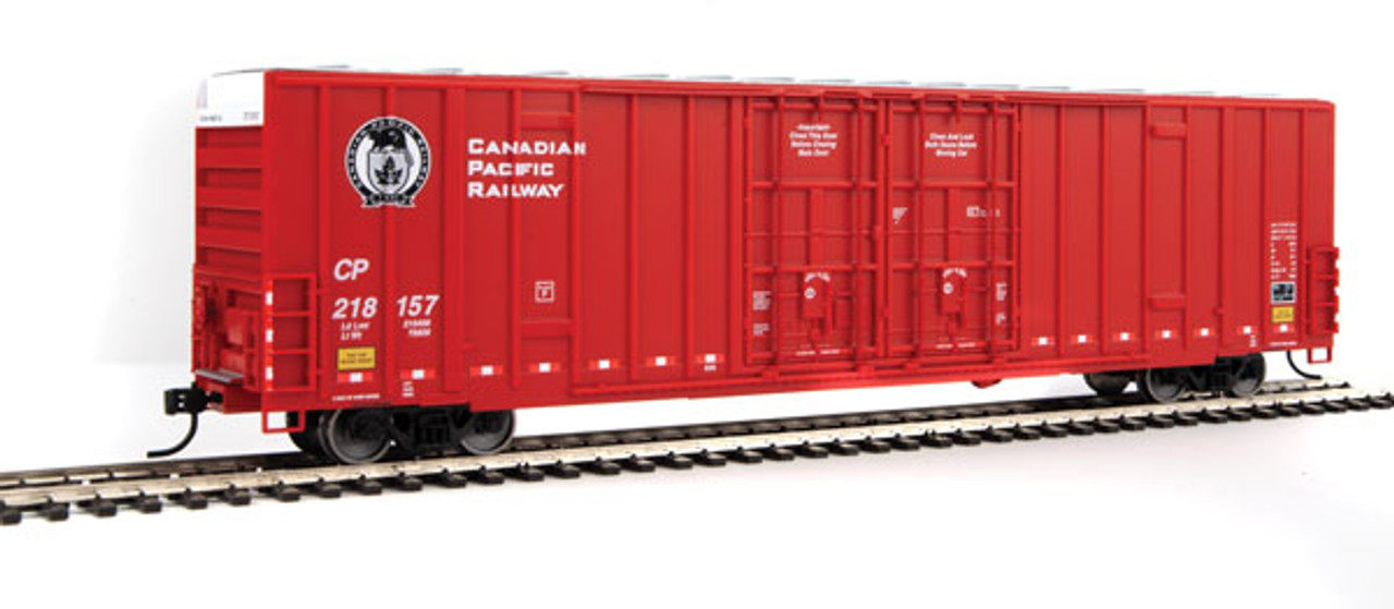 Walthers 910-2927 60' High Cube Plate F Boxcar CP - Canadian Pacific #218157 (SCALE=HO)  Part #910-2927