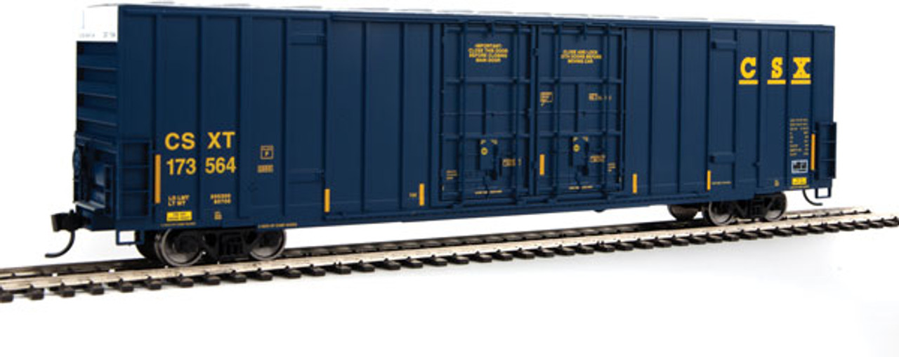 Walthers 910-2935 60' High Cube Plate F Boxcar CSXT - CSX #173564 (SCALE=HO)  Part #910-2935