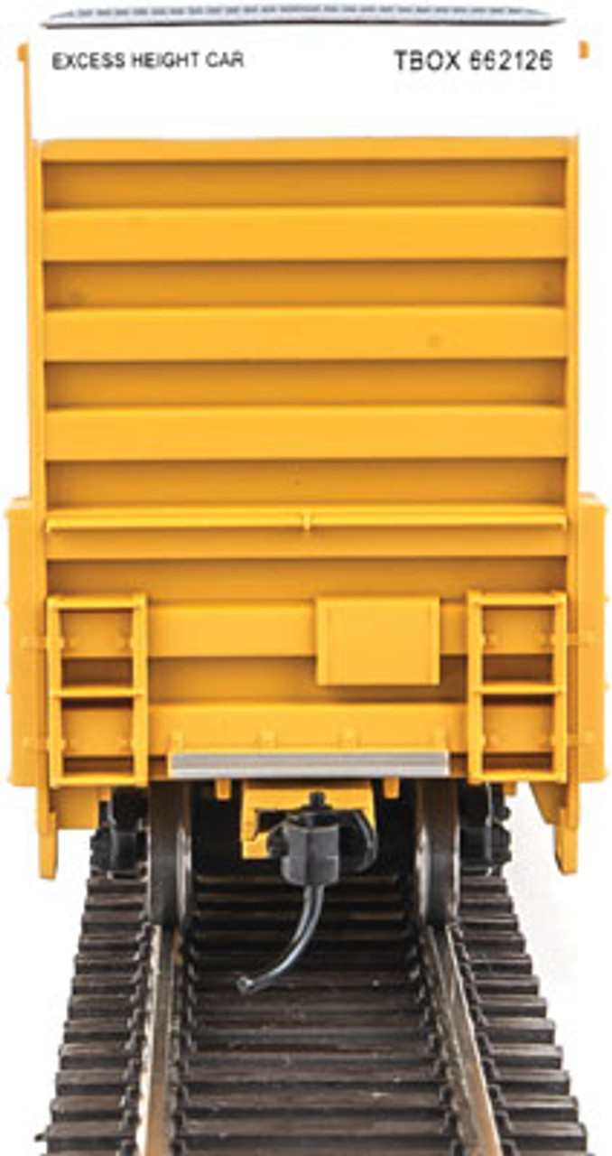 Walthers 910-2953 60' High Cube Plate F Boxcar TBOX -TTX Railcar Pooling Experts #662162 (SCALE=HO)  Part #910-2953