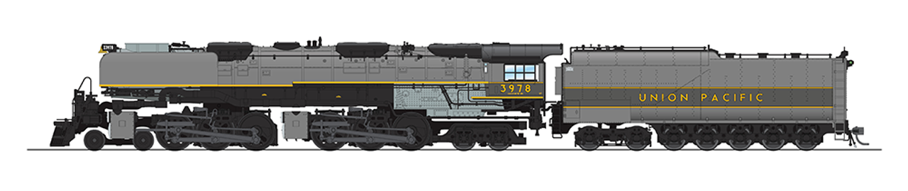 BLI 5826 Challenger 4-6-6-4 Union Pacific UP #3978 Broadway Limited  (SCALE=HO)  Part # 187-5826