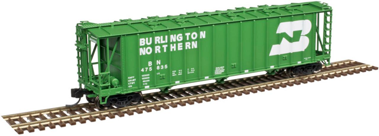 ATLAS 50004020 3500 CF Dry-Flo Hopper - BN - Burlington Northern #475835 (SCALE=N) Part # 150-50004020