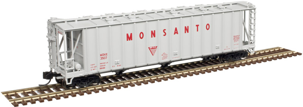 ATLAS 50004024 3500 CF Dry-Flo Hopper - Monsanto #3510 (SCALE=N) Part # 150-50004024