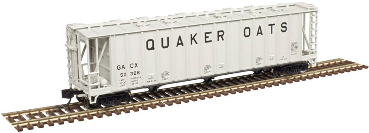 ATLAS 50004025 3500 CF Dry-Flo Hopper - Quaker Oats #50380 (SCALE=N) Part # 150-50004025