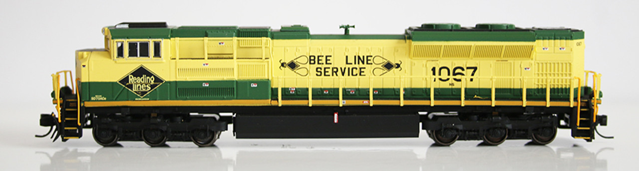 FVM 71153 SD70ACe - NS - Reading - Bee Line #1067 Fox Valley Models (SCALE=N) Part #282-71153