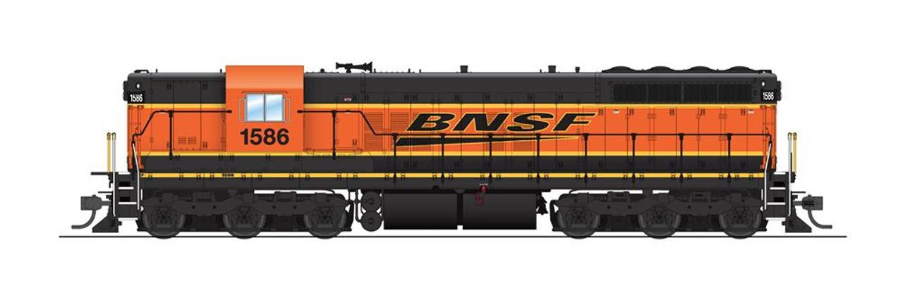 BLI 5801 SD9 BNSF - Burlington Northern Santa Fe #1587 w/Sound & DCC (SCALE=HO) 187-5801