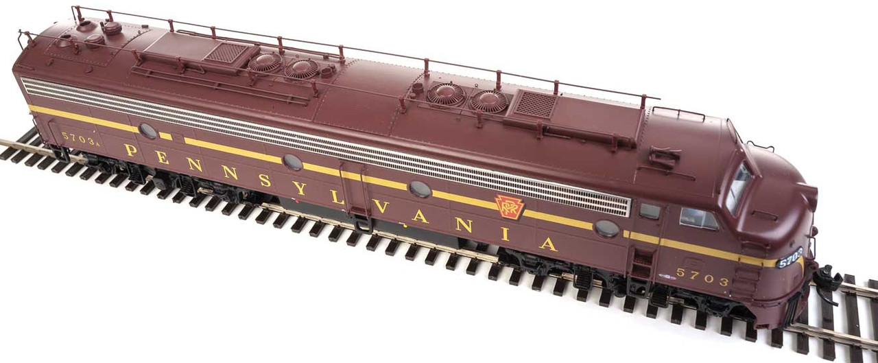 Walthers Proto 920-42350 / E8A/A PRR - Pennsylvania #5703A/5716A Equipped with LokSound & DCC  (SCALE=HO)  Part # 920-42350
