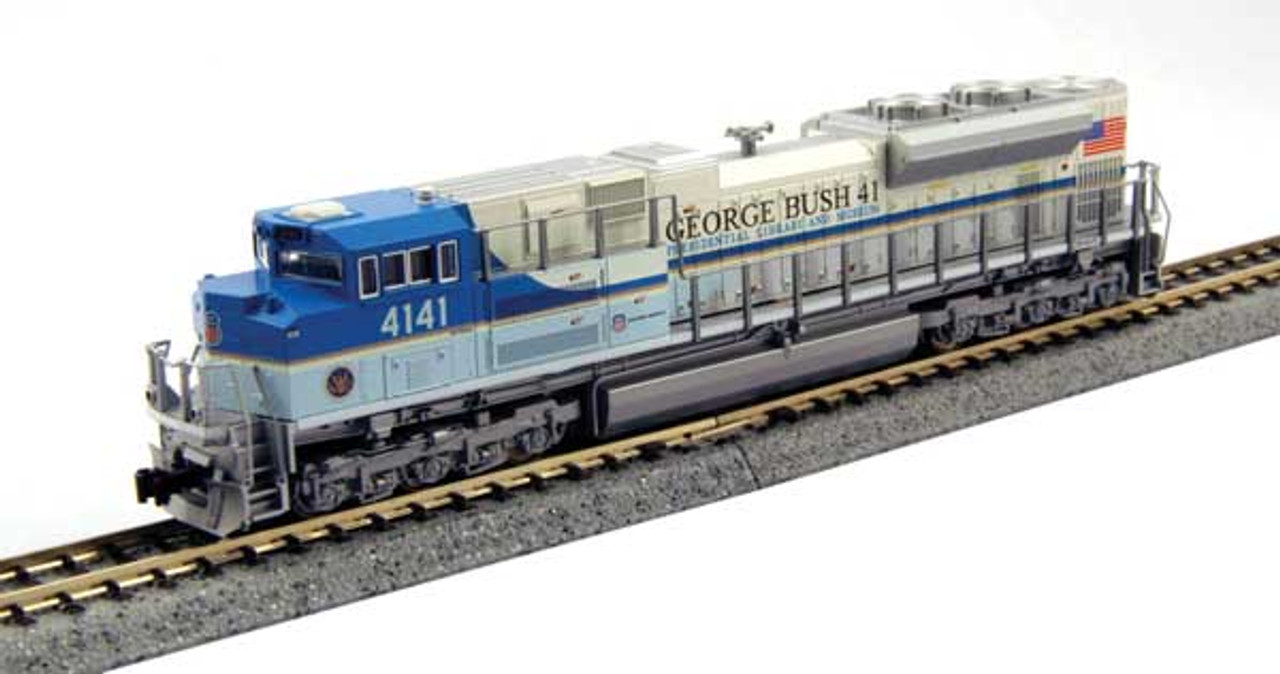 Kato 176-8411 SD70ACe UN Union Pacific President George H.W. Bush #4141 (SCALE=N)  Part #381-1768411