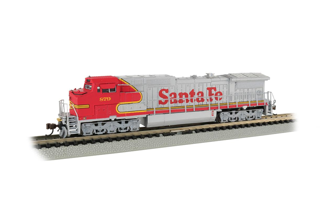 Bachmann 67352 / GE Dash 8-40CW DCC & Soundtraxx Econami Sound ATSF - Santa Fe #879 (Scale=N) Part#160-67352