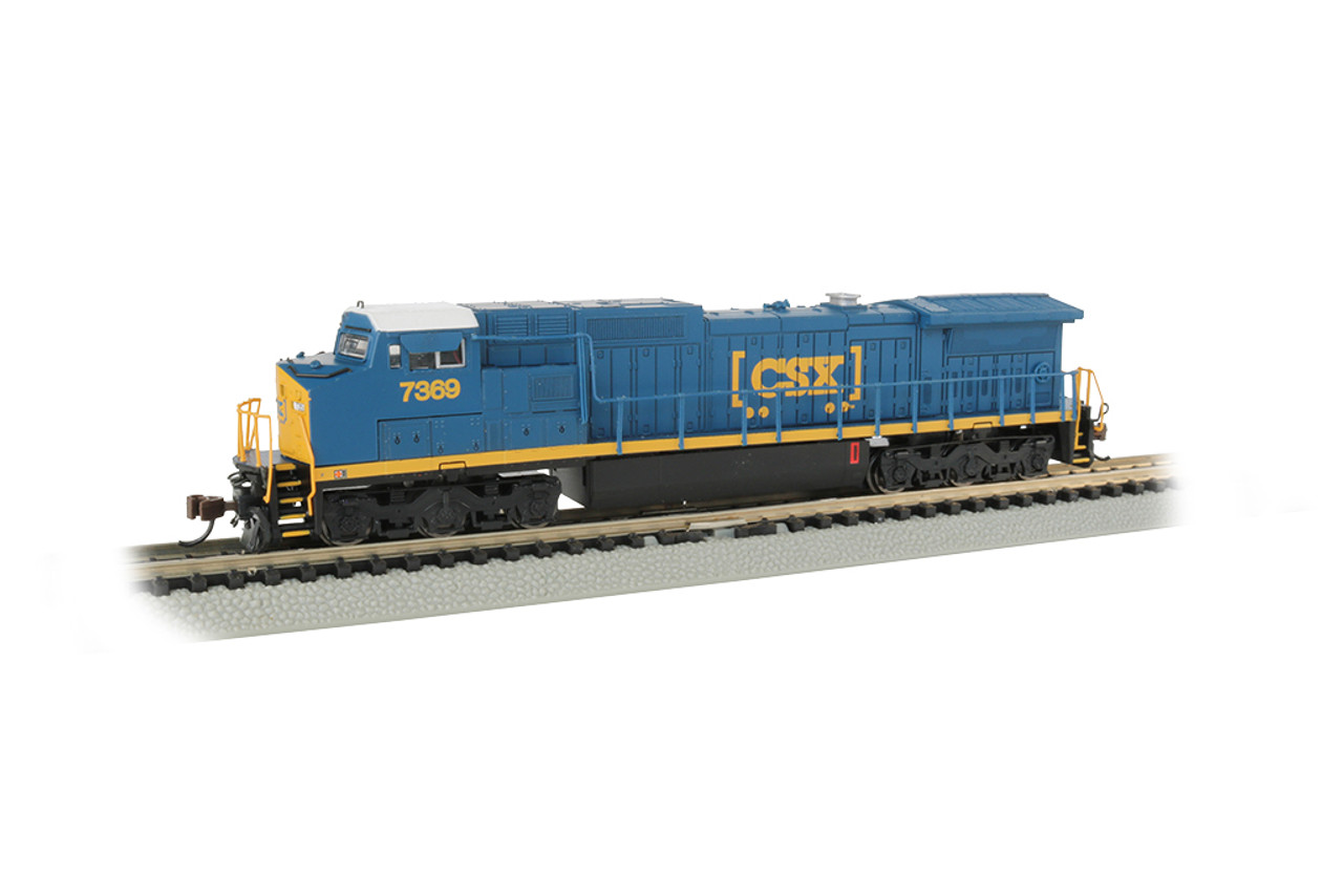 Bachmann 67353 / GE Dash 8-40CW DCC & Soundtraxx Econami Sound CSX #7369 (Scale=N) Part#160-67353