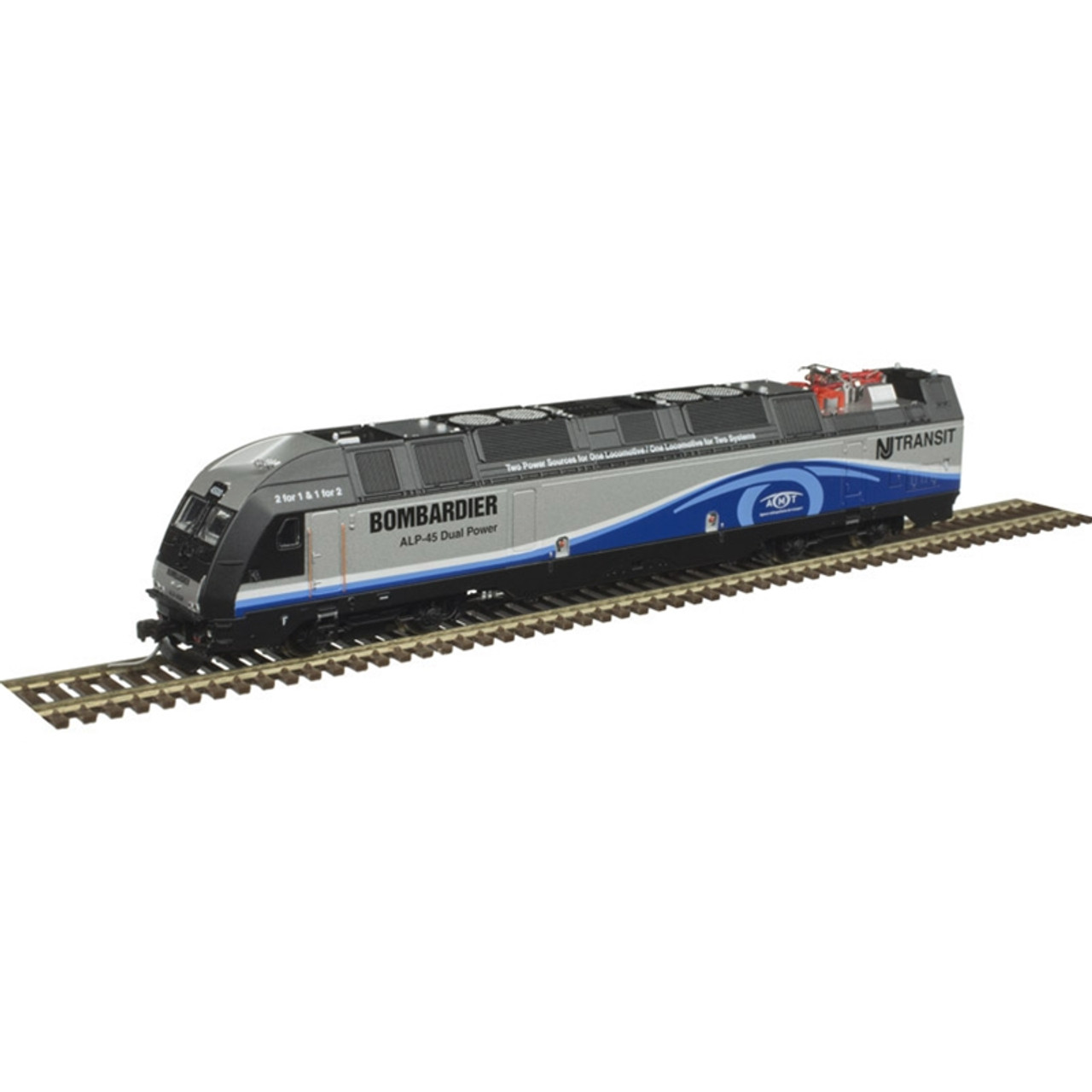 ATLAS 40004259 ALP-45DP - Bombardier Demonstrator AMT NJ Transit #4500 - Gold - DCC & Sound (SCALE=N) Part # 150-40004259
