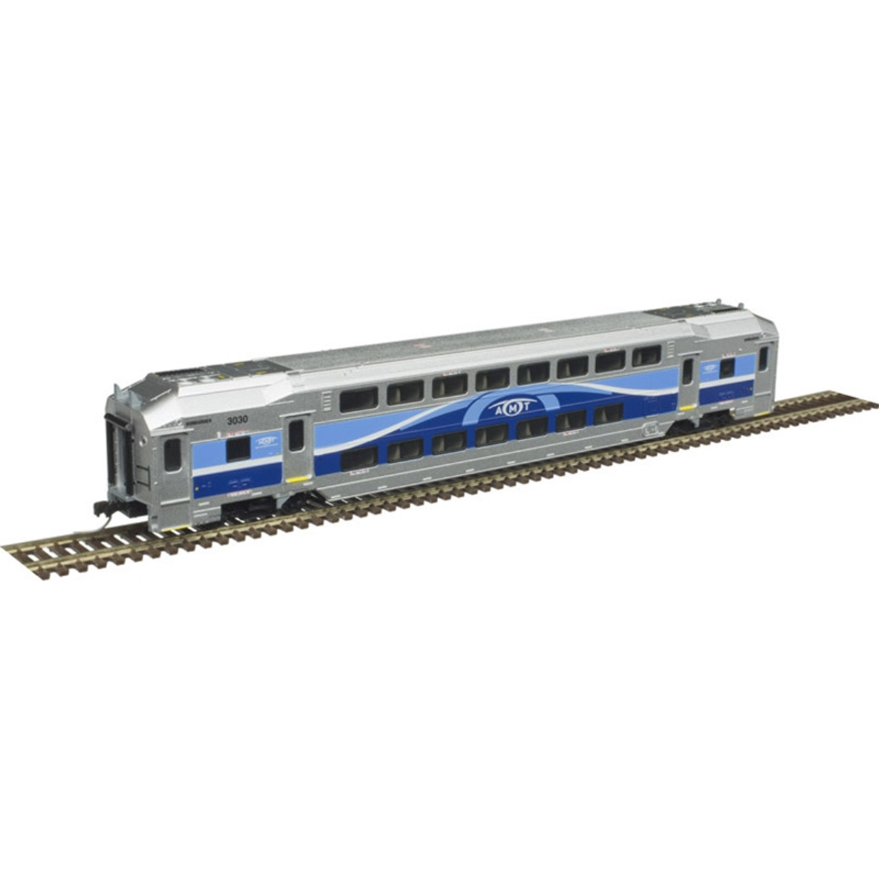 ATLAS 50004405 AMT - Cab Car #3022 + Trailer #3039 + Trailer #3087 (SCALE=N) Part # 150-50004405
