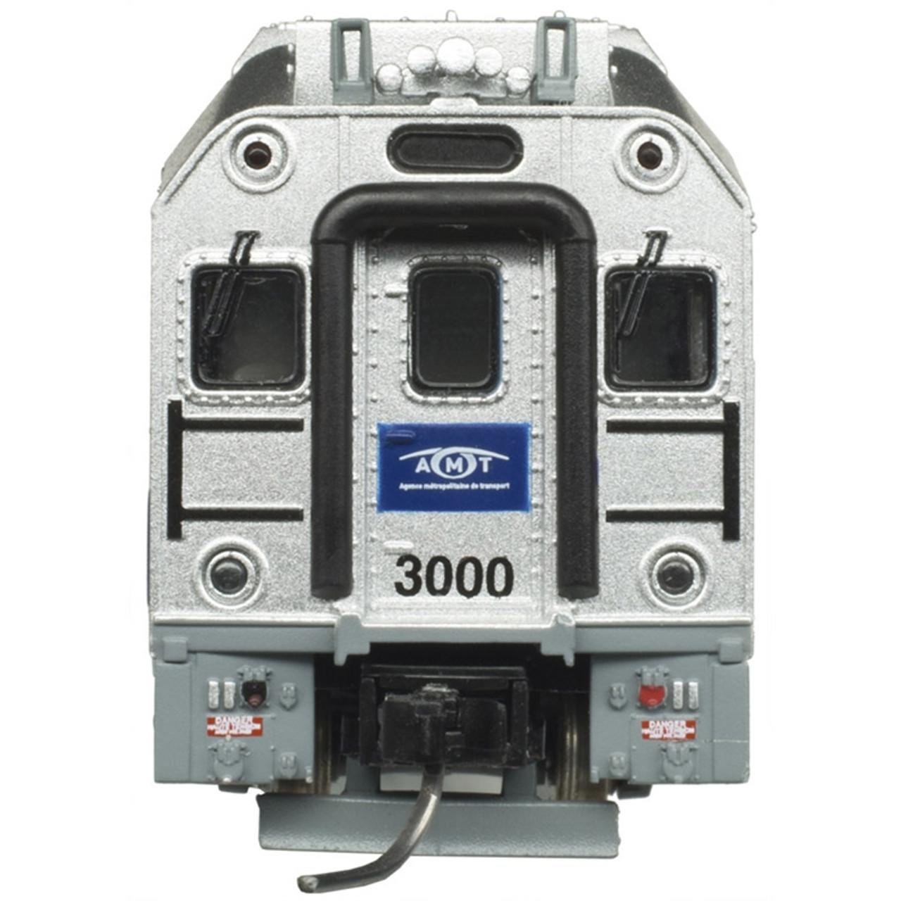 ATLAS 50004385 AMT - Cab Car #3000 (SCALE=N) Part # 150-50004385