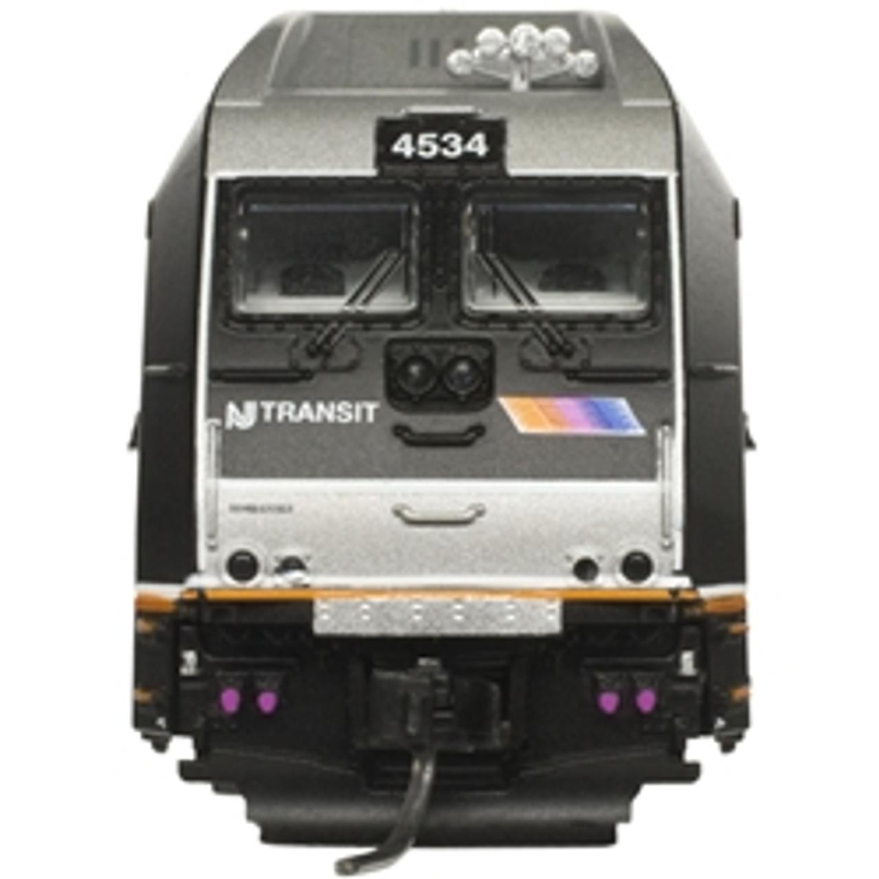 ATLAS 40004072 ALP-45DP - NJ Transit #4518 - Gold - DCC & Sound (SCALE=N) Part # 150-40004072