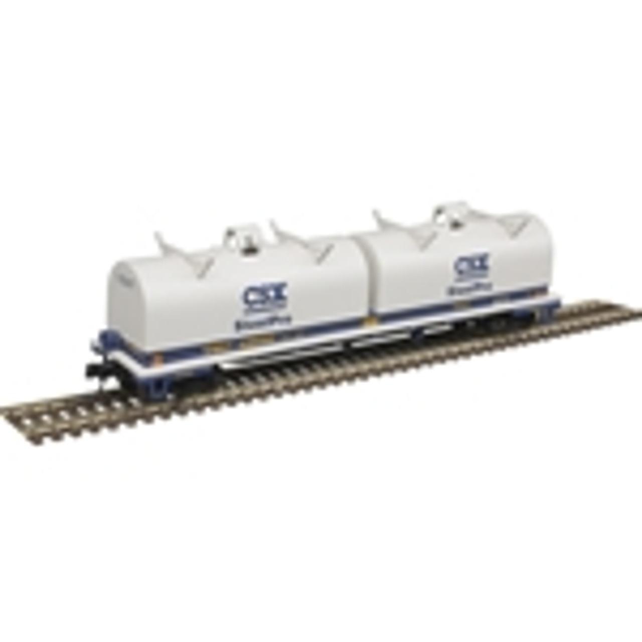 ATLAS 50004654 Cushion Coil Car - CSXT Steel Pro #496067 (SCALE=N) Part # 150-50004654
