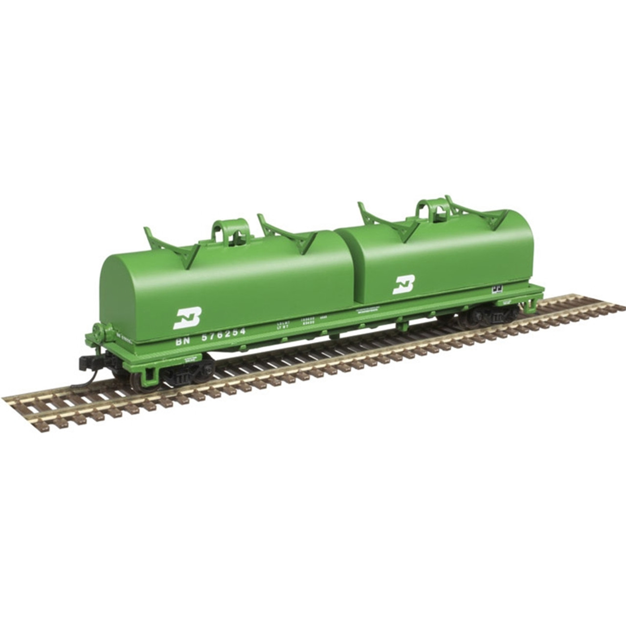 ATLAS 50004638 Cushion Coil Car - BN Burlington Northern #576240 (SCALE=N) Part # 150-50004638