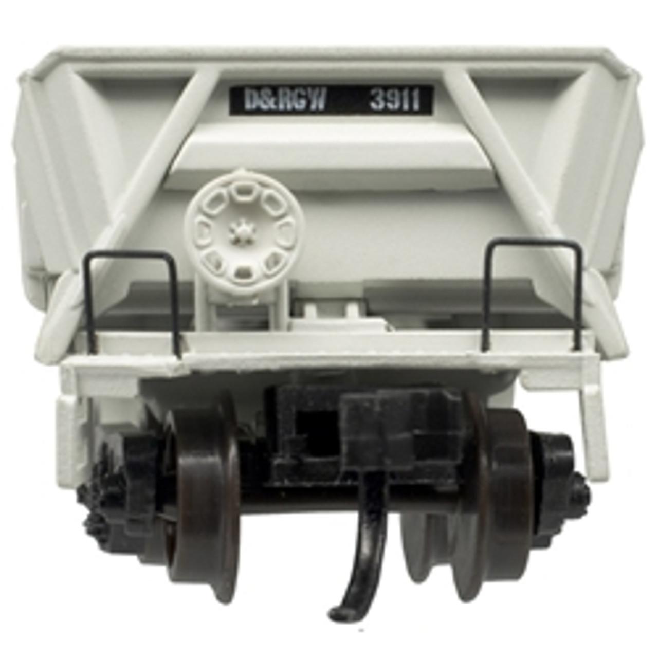 ATLAS 50004587 DIFCO Side Dump Car - D&RGW Denver & Rio Grande Western (UP Shield) #3911 (SCALE=N) Part # 150-50004587