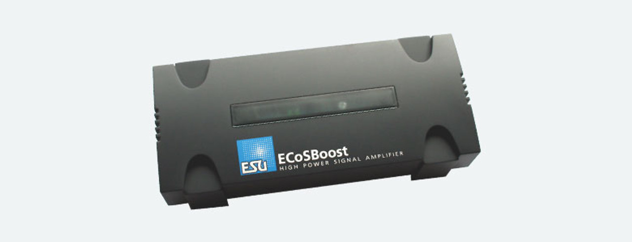ESU 50011  (ALL-SCALES) ESU 50011 ECoSBoost 8amp Booster MM/DCC/SX/MFX  Part # ESU-50011