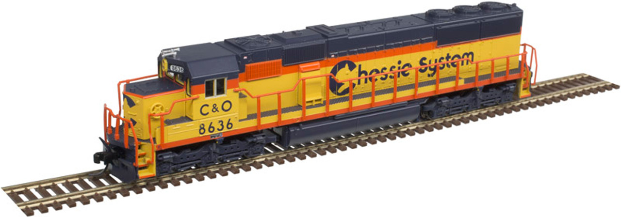 ATLAS 40003965 SD50 C&O Chessie System #8555 - Gold DCC & Sound - Master (SCALE=N) Part # 150-40003965