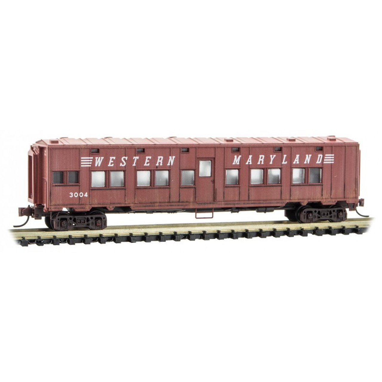 MICRO TRAINS 99305570 WM - Western Maryland Weathered 2-Pack  (SCALE=N)  PART # 489-99305570