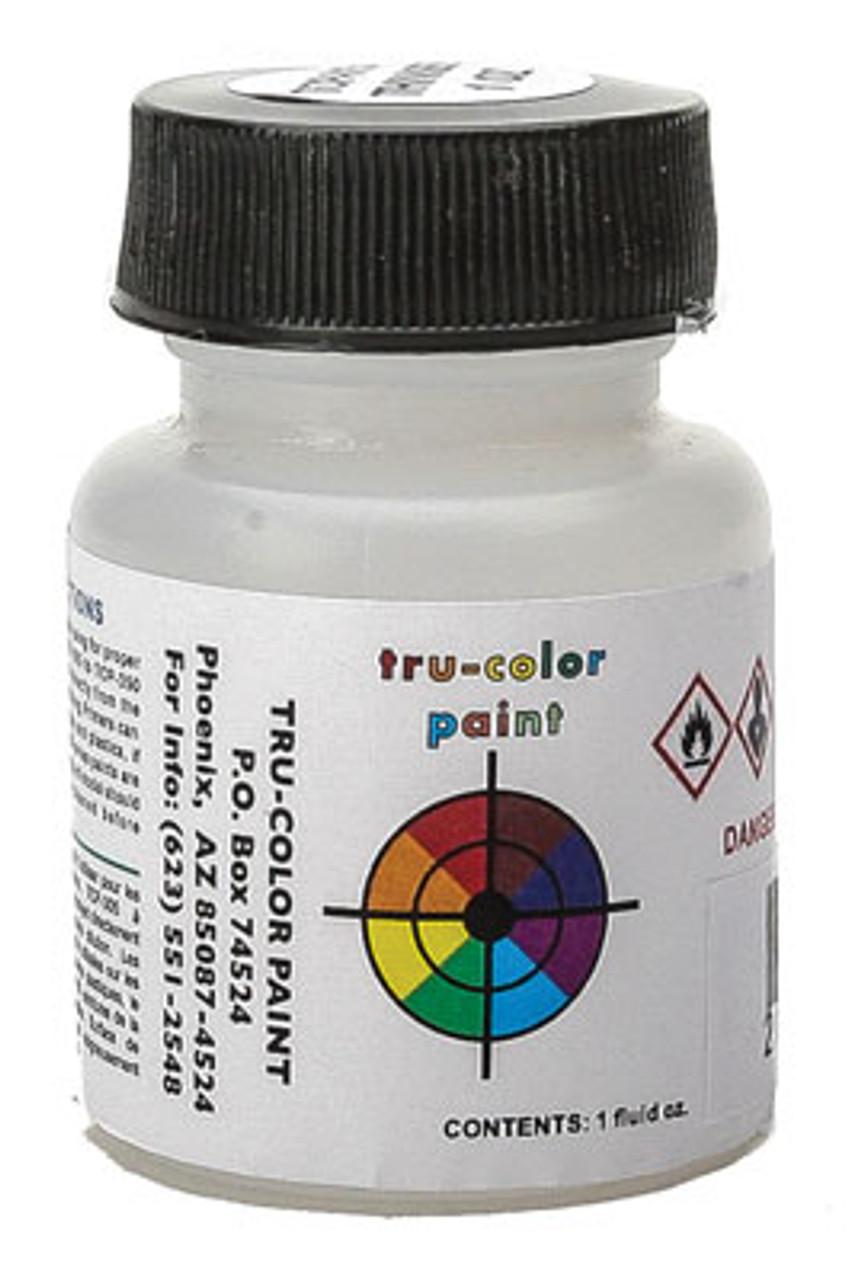 709-10   True Color Paint -  Railroad Color Acrylic Paints - 1oz  29.6mL -- Black  part # 709-10