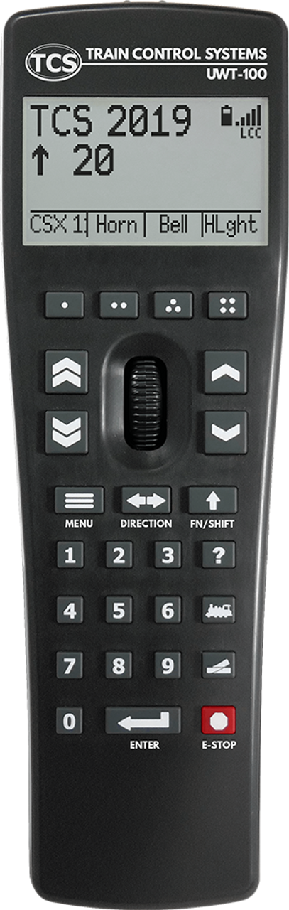 TCS Train Control Systems /  UWT-100 Universal WiFi Throttle (SCALE=ANY) Part # 745-UWT-100