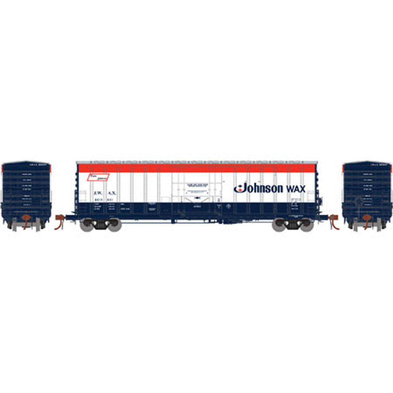 Athearn ATH18422 NACC 50' Box Car JWAX - Johnson Wax #46960  (Scale =HO) Part #ATH18422