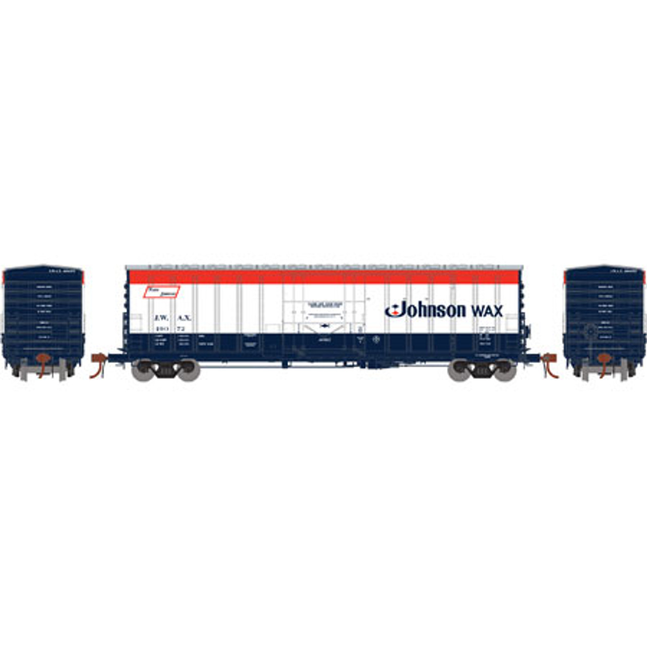 Athearn ATH18423 NACC 50' Box Car JWAX - Johnson Wax #49072  (Scale =HO) Part #ATH18423