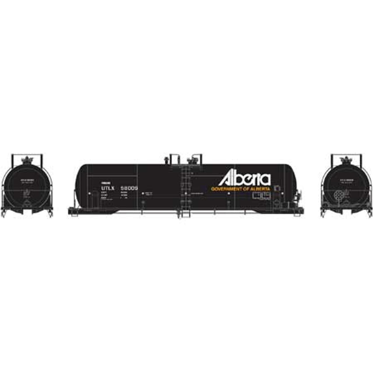 Athearn ATH15773 RTC 20K Tank Car ULTX - Alberta #58009  (Scale =HO) Part #ATH15773