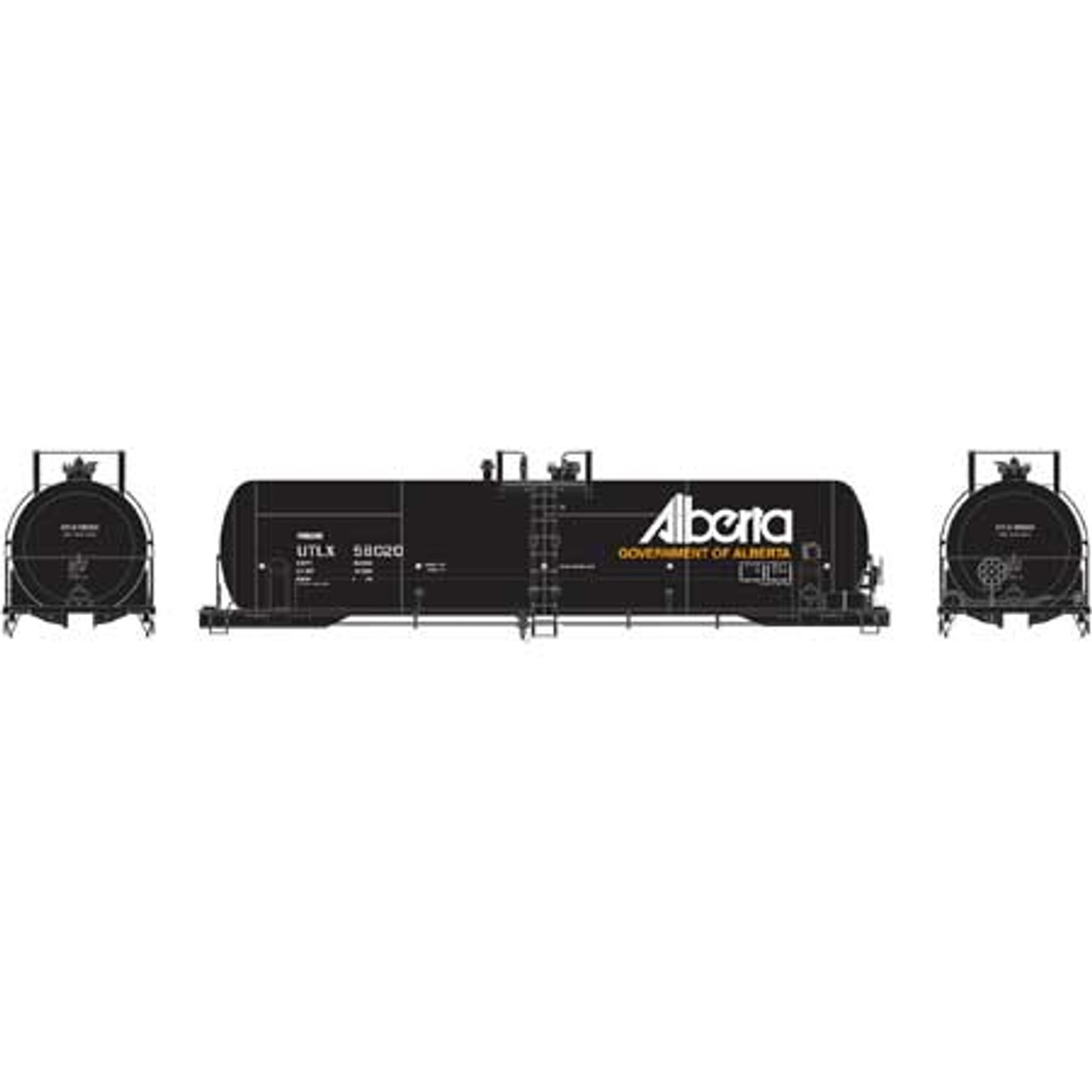 Athearn ATH15775 RTC 20K Tank Car ULTX - Alberta #58020  (Scale =HO) Part #ATH15775