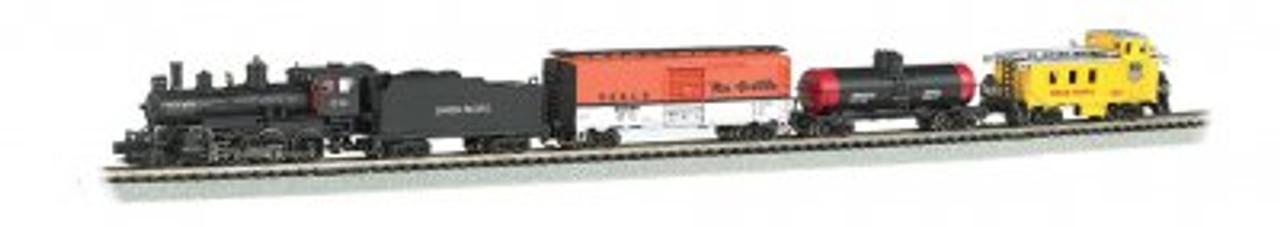 Bachmann N Scale Train Set 24133 - Whistle Stop Steam Train Set DCC & Sound (SCALE=N) Part#=160-24133