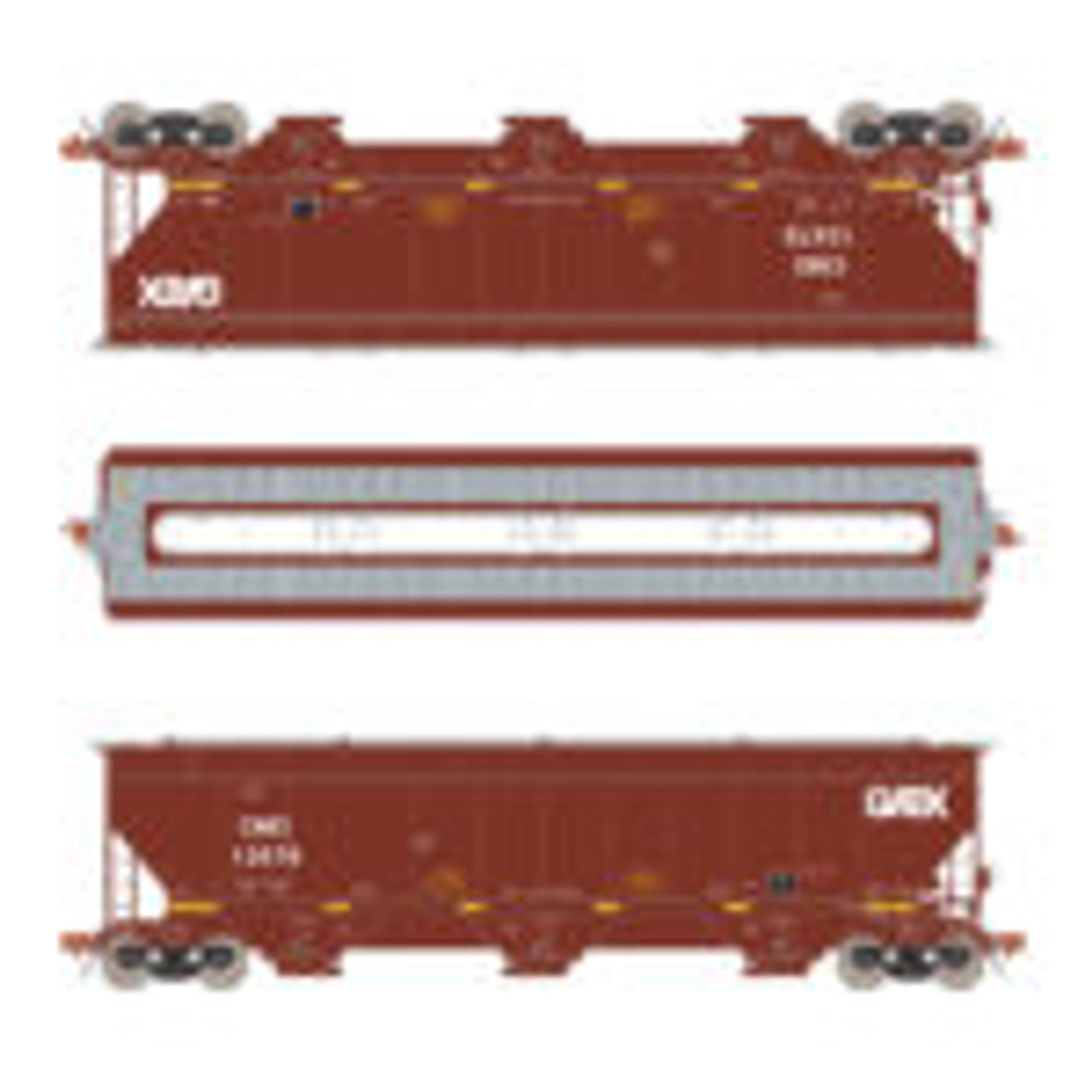 Scaletrains {SXT31584} Gunderson 5188CF Hopper CMO / GATX #13595 (Scale=HO) Part#8003-SXT31584