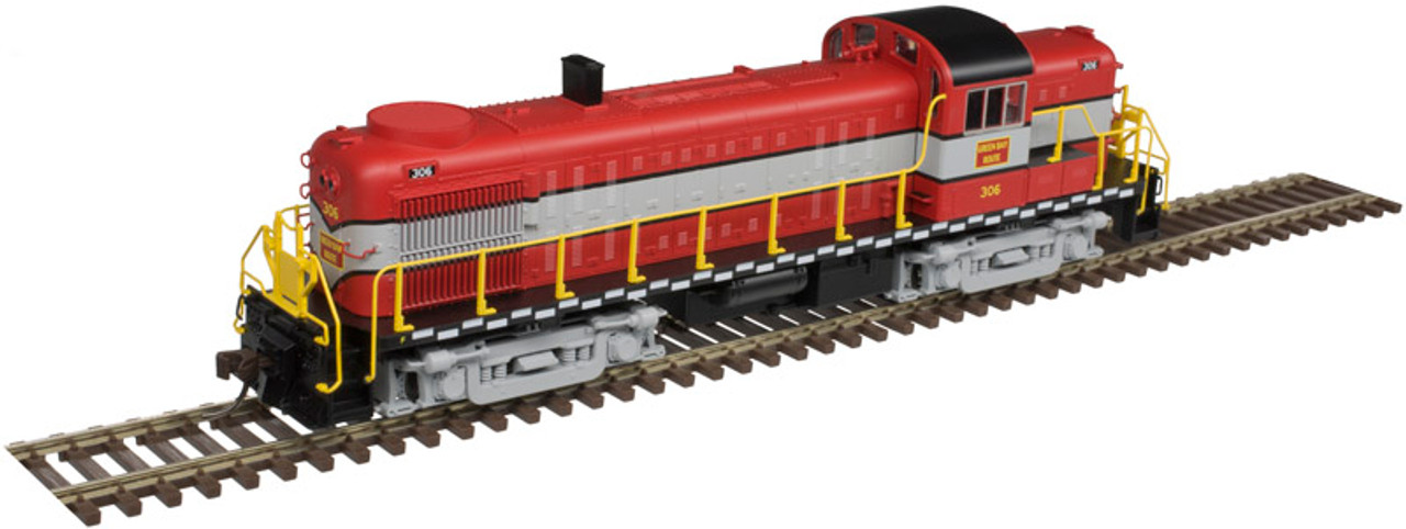 Atlas 10003045 ALCO RS-3 - GB&W - Green Bay & Western #308 - DCC & Sound (Scale=HO) Part#150-10003045